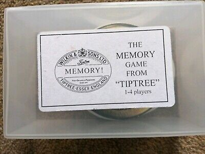 WILKIN AND SONS LTD Tiptree Essex RARE Memory game Pairs cards game