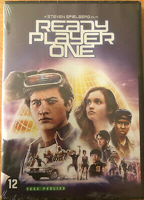 Ready Player One      Steven Spielberg       Dvd Neuf Sous Blister