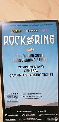 Rock am Ring 2019 General Ticket (Camping & Parking Ticket)