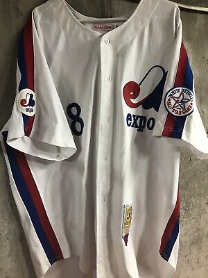 f51acd1e GARY CARTER MONTREAL Expos Authentic Mitchel & Ness Throwback Jersey ...