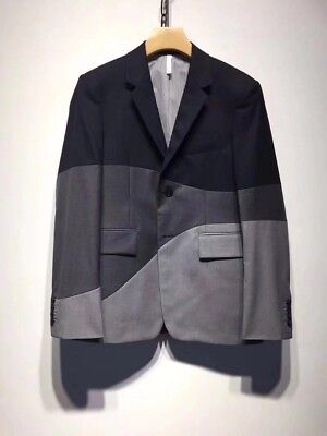 MONCLER GAMME BLEU Houndstooth Tweed Hunting Jacket by Thom