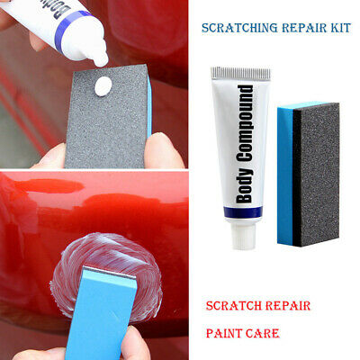 Fluid Compound Paste Remover Clear Strong Wax Kit Fashion Scratch Paint Repair