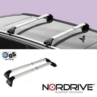 NORDRIVE SNAP ALU Dachträger für FORD TOURNEO COURIER - Offene Reling - 2014+