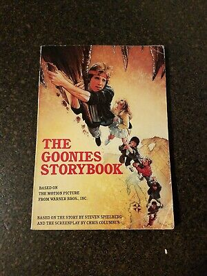 The Goonies Storybook Paperback Book Movie 1985 Rare