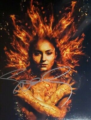 Sophie Turner Hand Signed 8X10 Photo W/Holo COA Game of Thrones