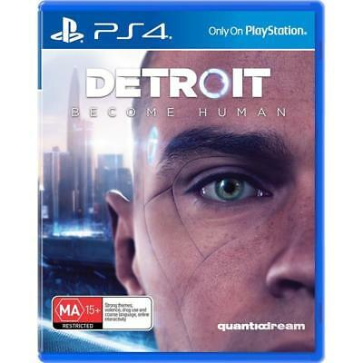 Detroit Become Human (Sony PlayStation 4, 2018)