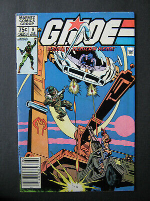 G.i.joe A Real American Hero #8