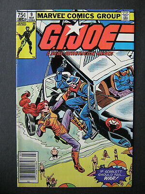 G.i.joe A Real American Hero #9