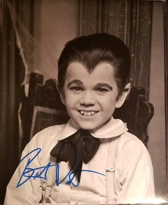 Butch Patrick Hand Signed 8x10 Photo w/Holo COA Eddie Munster