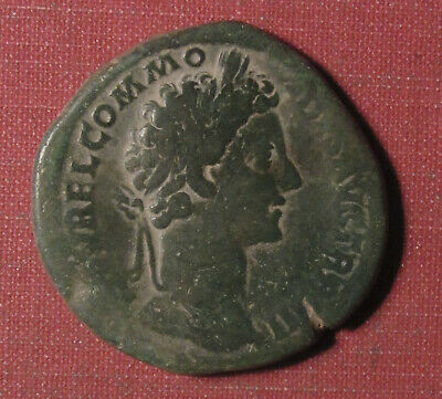 172-192 Ad Ancient Roman Ae Sestertius, Commodus - Large Bronze Coin!