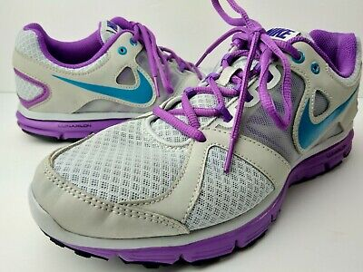 new product 85967 0dd1b Womens Nike Lunar Forever 2 Shoes 554895-001 Size 8.5 Grey   Purple