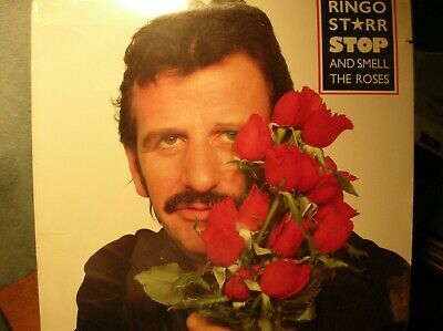 RINGO STARR Stop and Smell the Roses original 1981 LP STILL SEALED