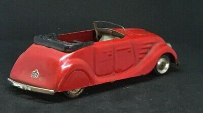 Tin Car Year of Manufacture  Vintage Manufacture Diecast Cars 1937
