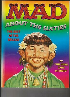 US MAD Magazine 'MAD ABOUT THE SIXTIES' first edition book 1995