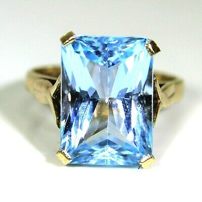3f4b4ed6c79129 MIORE LADIES 9KT White Gold Diamond and Sky Blue Topaz Ring - Size P ...
