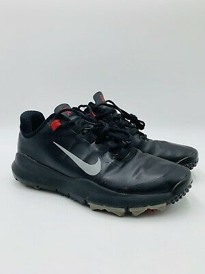 in stock 73146 304a1 NIKE Tiger Woods TW Black   Red Laceup Golf Shoes 532622-001 - Men s size