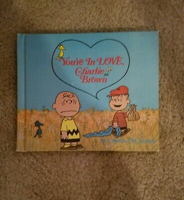 You're In Love, Charlie Brown  First Edition 1968  Hc