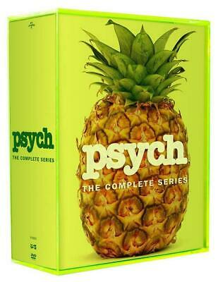NEW Psych: The Complete Series Seasons 1-8 (DVD, 31-Disc Box Set) 1 2 3 4 5 6 7