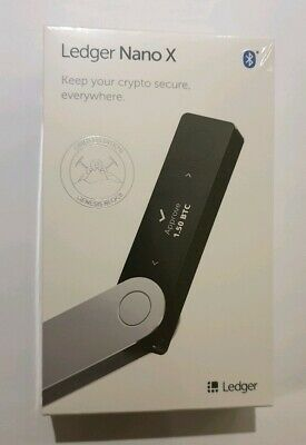 Ledger Nano X - Crypto Hardware Wallet - Brand New Sealed - Limited Edition!