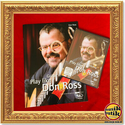 Play like Don Ross, Fingerstyle Guitar Workshop, 1 DVD u. Begleitheft von Don Ro
