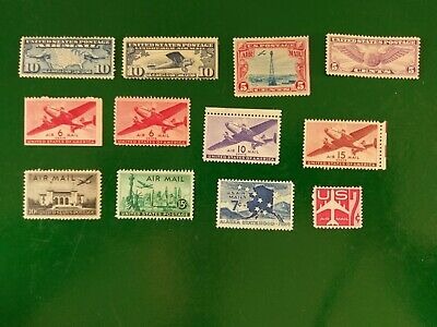 Etats-Unis United States Lot Air Mail 1926 - 1960 New Without Gum