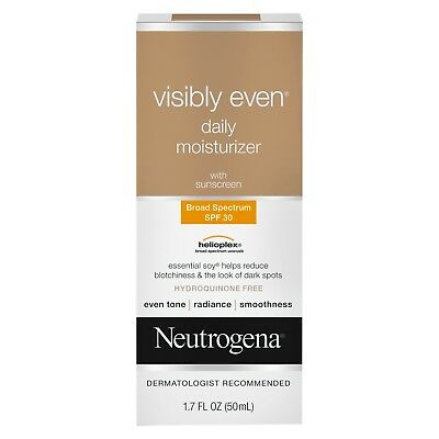 Neutrogena Visibly Even Daily Moisturizer with Broad Spectrum SPF 30 Sunscreen