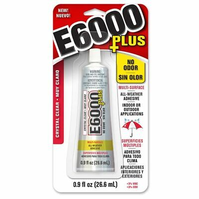 E6000 Plus 26.6ml Adhesive - Clear, odourless, flexible, washer dryer safe.