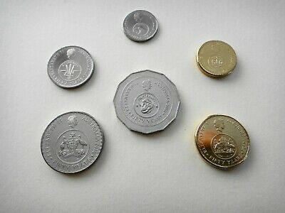 2016 Changeover Set 6 (six) Coins  50th Anniversary of Decimal Currency  UNC #6