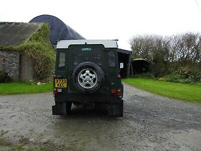 Land Rover Defender 90 TD5, Hard Top,year 2000,with windows and bench seats