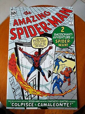 The Amazing Spider-Man N.1 Ristampa 2007 Panini Marvel Nuovo