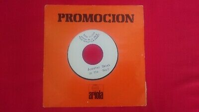"""PINK FLOYD - ANOTHER BRICK IN THE WALL part II 7"""" VINYL SINGLE 1979 promo Spain"""