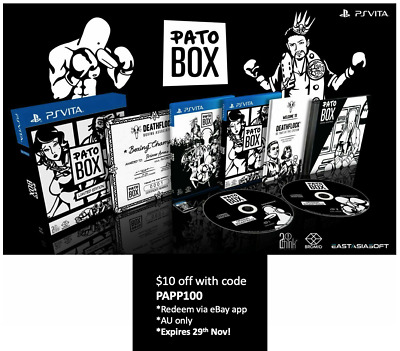 Pato Box Limited Edition PS Vita EastAsiaSoft Limited Run Sealed 1000 WW SoldOut