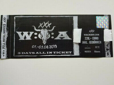 Wacken Open Air 2019 - Festival Ticket - 3 Days All In - SOLD OUT -
