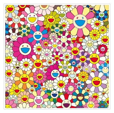 Takashi Murakami Oil Painting HD Print Wall Decor Art on Canvas 20x20 inch #03