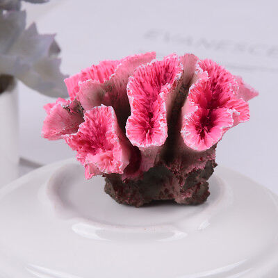 Simulation Coral Aquarium Decoration Non-Toxic Ornament Fish Tank Decor  Ds