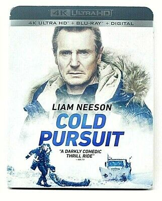 Cold Pursuit (4K Ultra HD+Blu-Ray+Digital) W/Slipcover - New - Sealed