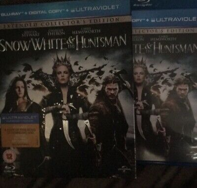 Extended Collectors Edition Snow White and the Huntsman Blu-ray Chris Hemsworth