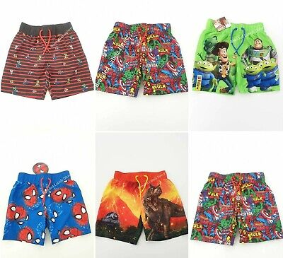 ac54e1b1ad3f8 Primark Boys Super Mario Toy Story Jurassic World Marvel Swimming Shorts  Trunks