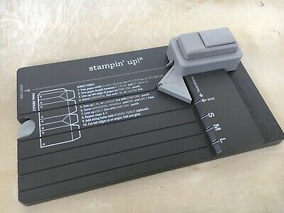 Stampin' Up! GIFT BAG PUNCH BOARD Retired
