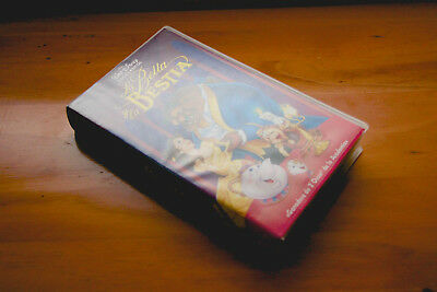 LA BELLA Y LA BESTIA vhs / Beauty and the Beast / WALT DISNEY'S / COLECCIONISTA