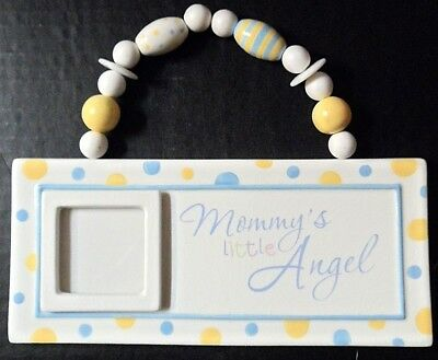 Photo Frame Mommys Little Angel 2x2 Baby Picture Nursery Wall  Decor