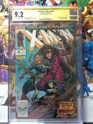 Uncanny X-men 266 CGC 9.2 SS 1st full appearance of Gambit