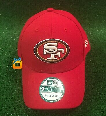 da1014befba3b5 San Francisco 49ers New Era Brand Cap Adjustable Red Hat NFL NEW - 60% off