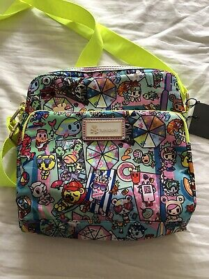 8a5a29d2515 TOKIDOKI Pool Party Crossbody Bag INCOMPLETE No Unicorn Charm