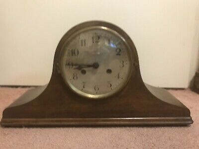 Mauthe Mantle Clock, Mic 20th Century, Working Condition