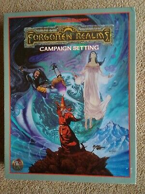 Forgotten Realms Campaign Setting Boxset 1993 Advanced Dungeons and Dragons