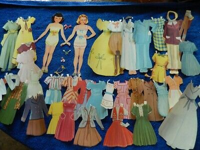 Paper Dolls (Yes That's The Title) Saalfield 1530, 1948, So Cute
