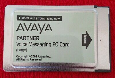 AVAYA Partner Voice Messaging PC Card Large CWD4B 700226525