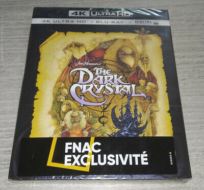The Dark Crystal - Blu Ray 4K Ultra HD - Neuf Sous Blister (New Wrapped)