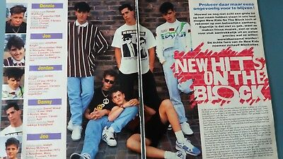 new kids on the block article 2 pages belge